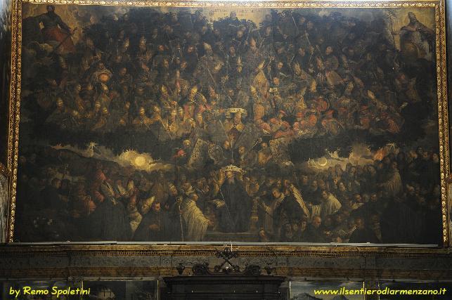 Perugia - il quadro più grande del mondo e il suo demone