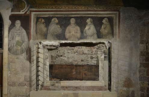 Tomba dei primi compagni di San Francesco
