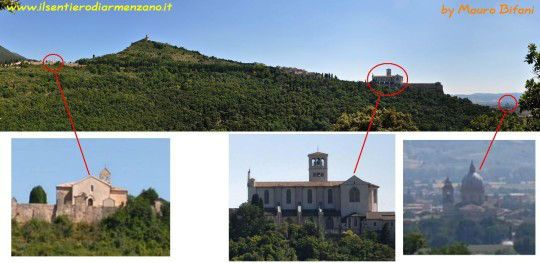 Cinicchio ad Assisi. Cinicchia e San Francesco