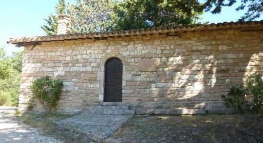 La chiesetta dove Francesco e Giovanni da Nottiano si incontrarono