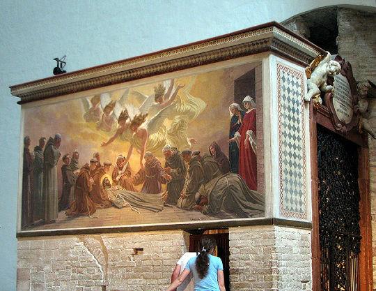 Cappella Transito San Francesco di Assisi