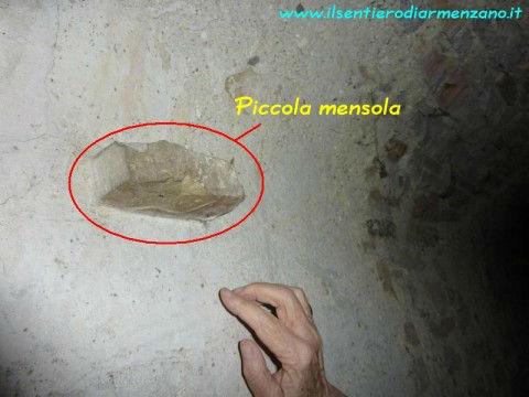 L'interno della Grotta di Cinicchia