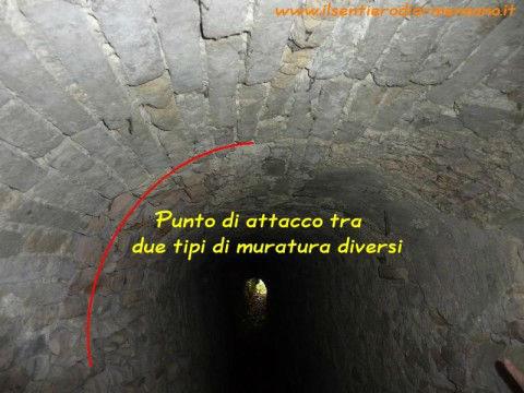 Tunnel nella Grotta di Cinicchia