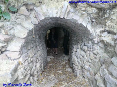 Entrata della Grotta di Cinicchio