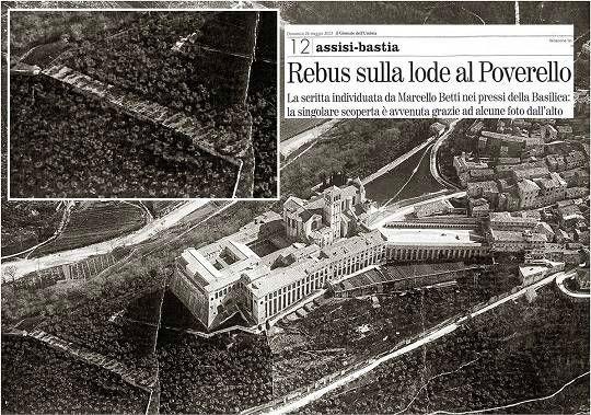 Foto aerea Basilica - Editrice Rossi anni 1920-1930