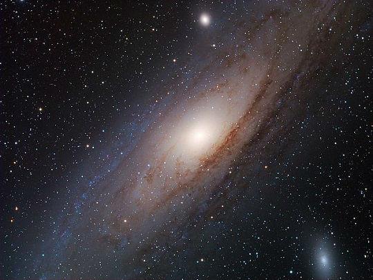Astronomia - Galassia di Andromeda e le stelle