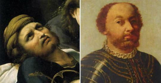 Confronto tra il personaggio della deposizione e Gianpaolo Baglioni - Perugia