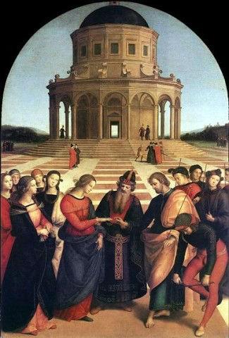 Raffaello Sanzio - Spozalizio della Vergine