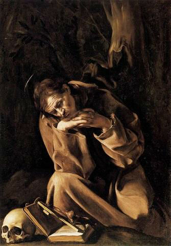 Michelangelo Merisi da Caravaggio - San Francesco