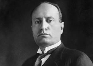 Benito Mussolini in Umbria
