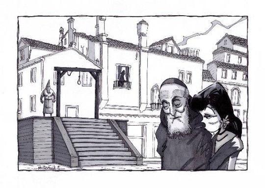 Misterbad - Illustrazione di Porzia Corradi