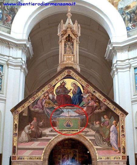 La Porziuncola di Santa Maria degli Angeli di Assisi centra qualcosa con Cinicchia?