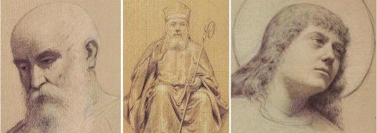 I bozzetti di Francesco Bergamini per gli affreschi ottocenteschi della cattedrale di San Rufino ad Assisi