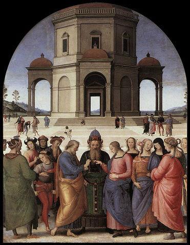Perugino - Sposalizio della Vergine
