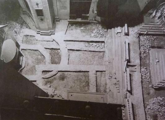 Fondamenta della basilica di Santa Maria degli Angeli